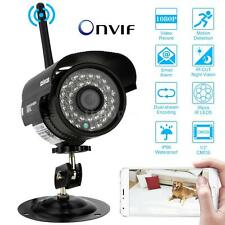 WiFi 1080p 2MP HD Outdoor Wireless CCTV Security Network IP Camera Night Vision