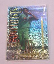 1996 Wasim Akram The Specialists Futera Elite Series Cricket Card Pakistan