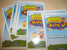 moshi monsters trading cards series 1 NEW Pick 2 from list