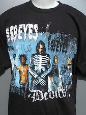 The 69 Eyes Devils US Tour 2006. Black 2 sided t shirt sz Large NWOT