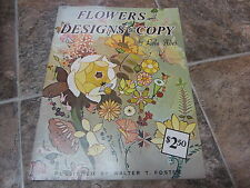Vintage Flowers & Designs to Copy, Lola Ades, Walter Foster Art Books, Arranging