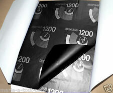 Lot de 10 feuilles noires A4 papier carbone à main ou machine NOIR reproduction