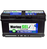 GEL-Batterie 100Ah Marine Bootbatterie Boot 12V Wartungsfrei  Batterie Gelbatter