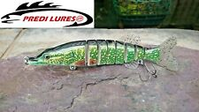 Big Size Soft Tail Swimbait Lifelike Multi Jointed Fishing Lure 20cm 70g Pike GP