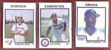 1987 Pro Cards OMAHA ROYALS Team Set - Gary THURMAN - #C0L
