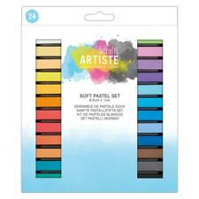 Docrafts Artiste Soft Pastel Set of 24 Colours