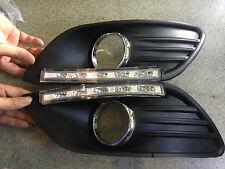 2 x E4 LOGO DRL LED Excellent Led daytime running light for Ford Focus 2009-2011
