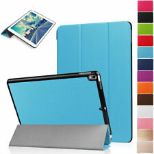 """For iPad 5th 9.7"""" Case Leather Smart Magnetic Flip Stand Slim Wake Screen Cover"""