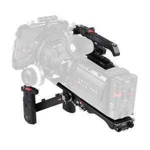 JTZ DP30 Camera Cage Baseplate Shoulder Rig KIT For Blackmagic URSA MINI 4K 4.6K