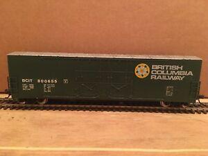 HO Atlas Custom British Columbia 53' Evans Double Plug Door Boxcar BCOL #800655