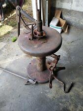 Vintage Coats Iron Tireman Tire Changer Manual Machine Hot Rod Garage