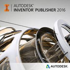Autodesk Inventor Publisher 2016 für Windows (Einzelplatzlizenz)