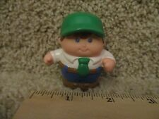 Vintage Little Tikes tots Chunky People toddle Truck driver man dad home bus toy