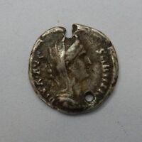 FAUSTINA SENIOR, wife of Antoninus Pius, d. 141 AD. AR Commerative Denarius  DAM