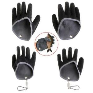 Fishing Gloves Non Slip Latex Glove With Magnet Release Fish Grab Anti Skid Hand