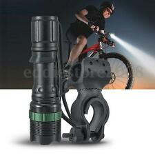 3000Lm  LED Cycling Bicycle Bike Front Flashlight Torch SA9 +Holder Mount