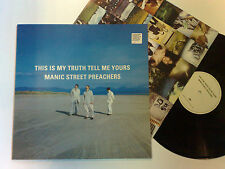 MANIC STREET PREACHERS THIS IS MY TRUTH TELL ME YOURS 1998 EPIC UK LP