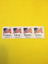Scott #4633-36 Set Of (4 Individual) Stamps, Flags Forever Coil MNH.  APU