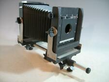 Calumet Monorail View Camera 4 x 5 With Lens Board & Revolving Back