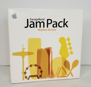 Apple GarageBand Jam Pack - Rhythm Section 2 DVD Set 2006