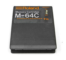 Roland M-64C Memory Cartridge For Keyboard Synth Etc. RAM, Presets. RO