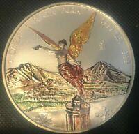 1999 UNC1 oz.999 SILVER Ley Mexican Libertad,1 Onza,Pura Plata, 10-13
