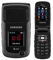 Unlocked Samsung Rugby 2 II SGH-A847 Black 3G GSM Rugged Flip Refurbished Phone