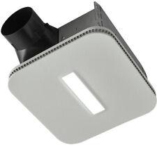 NuTone Bathroom Exhaust Fan 120-Volt LED Light Galvanized Steel Cover Square