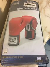 Everlast Pro Style 8-Ounce Training Gloves Red  Heavy Bag Training New $79.99