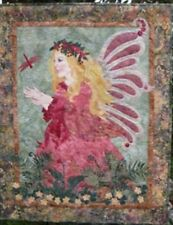 Woodland Fairy Applique Wall Hanging Quilt Pattern by Seams Like Home