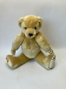 """VINTAGE 15"""" MERRYTHOUGHT Mohair Teddy Bear Jointed LE 16/500"""