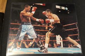 OSCAR DE LA HOYA 11x14 Signed Photo PSA/DNA COA The Golden Boy Boxing Legend