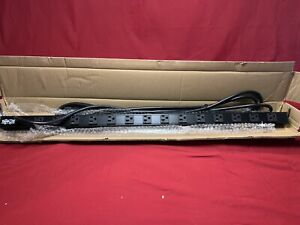 TRIPP LITE PDUV20 PDU BASIC 120V 20A 5-15/20R 14 OUTLET L5-20P VERTICAL 0URM