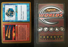 Fire // Ice - NM/SP - World Champ Deck - Toronto 2001 (Gold Border)