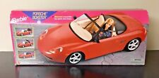 Rare 1998 Barbie Porsche Boxster Red Sports Car Motorized Convertible New Sealed
