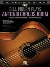 Bill Piburn Plays Antonio Carlos Jobim Sheet Music Hal Leonard Solo Gu 000703006