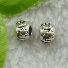 88 pcs tibet silver nice spacer beads 10mm (for bracelet) B2672