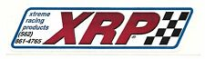 "XRP Sticker Decal 4"" x 1"" ..Xtreme Racing Products"