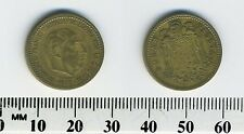 Spain 1953 (56) - 1 Peseta Aluminum-Bronze Coin - Francisco Franco, caudillo -#6