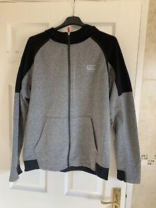 Mens Canterbury full zip hoodie - Large
