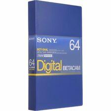 SonyBCT-D64L Digital Betacam Tape 64 min - (New - Open Box)