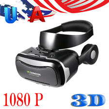 Virtual Reality VR Headset 3D Glasses Compatible with 4.7-6.0 inch Phone 1080P