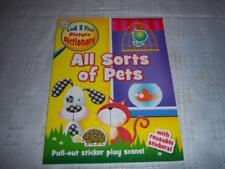 All Sorts of Pets Look & Find Picture Dictionary Childrens educational Book