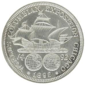 USA - Silver ½ Dollar Coin - 'Columbian Exposition' - 1892 - AU