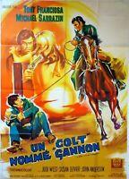 Plakat Kino Western Un COLT Ernennt Gannon - 120 X 160 CM