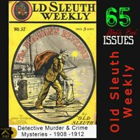 Old Sleuth Weekly | The Famous NY Sold Detective , Murder & Crime stories