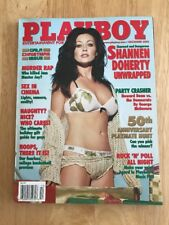 Actress & Model SHANNEN DOHERTY Cover BACK ISSUE PLAYBOY MAGAZINE December 2003
