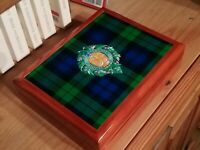 Argyll and Sutherland Highlanders  Military Medals and Memorabilia Box, Fab Gift