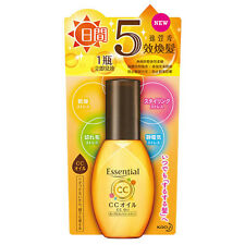 [KAO ESSENTIAL] CC Oil Leave On Hair Treatment for Damage Hair 60ml JAPAN
