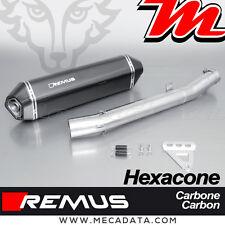 Silencieux Pot d'échappement Remus Hexacone carbone Kawasaki GTR 1400 - 2016